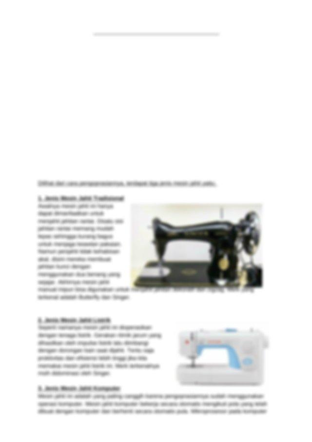 Mesin Jahit Manual : mesin, jahit, manual, Mesin, Jahit.docx, Jahit, Komponen, Fungsi, Hanya, Mengenal, Jenis, Manual, Tradisional, Tetapi, Sekarang, Course