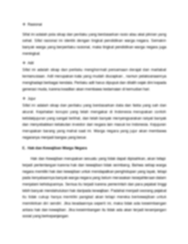 Soal essay pelanggaran hak dan pengingkaran kewajiban