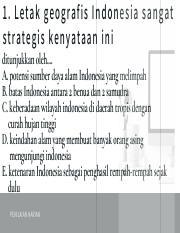 Indonesia Memiliki Letak Yang Sangat Strategis : indonesia, memiliki, letak, sangat, strategis, Letak, Geografis, Indonesia, Sangat, Strategis, Kenyataan, Ditunjukkan, Oleh...., Potensi, Sumber, Course