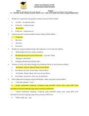 Soal Lapisan Bumi Ipa Kelas 7 : lapisan, kelas, Latihan, Kelas, SMP.docx, LAPISAN, STRUKTUR, Tanggal, Berilah, Tanda, Silang(X, Huruf, Course