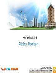(PPT) Aljabar Boolean | Melinda Dyah Ayu - Academia.edu