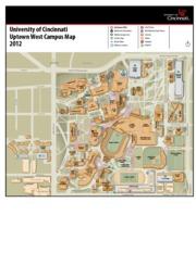 University Of Cincinnati Map : university, cincinnati, Campus, University, Cincinnati, Uptown, MainStreet, Information, Parking, Garages\/Lots, Shuttle, Stops, Bicycle, Racks, Course