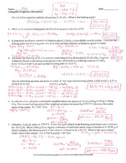 Colligative Properties Worksheet  M Cacl 2 015 M Nacl 010 M Hcl 010 M C 12 H 22 O 11