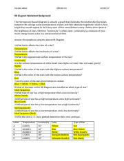 Hr Diagram Worksheet Answers : diagram, worksheet, answers, U1-A10-HR, Diagram, Assignment, Akter, Yasmin, SES4UI-01, Worksheet, Background, Hertzsprung-Russell, Actually, Graph, Course