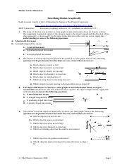 Describing Motion Graphically : describing, motion, graphically, 3-Motion_Graphs_Practice.docx, Motion, Dimension, Describing, Graphically, Study, Lessons, Kinematics, Chapter, Course
