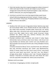 Penyebab Perbedaan Bunyi Onomatope : penyebab, perbedaan, bunyi, onomatope, TUGAS, BAHASA, INDONESIA.docx, Utarakan, Sikap, Mengenai, Penggunaan, Bahasa, Indonesia, Media, Sosial, Seperti, Twitter, Facebook, Course