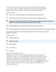 Tekanan Terhadap Kepemimpinan Soeharto Menjelang Kejatuhan Orde Baru Berasal Dari : tekanan, terhadap, kepemimpinan, soeharto, menjelang, kejatuhan, berasal, Question, Options, Kongres, Pertama, Indische, Partij, Gerakan, Course