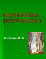 Manajemen Persediaan Ppt : manajemen, persediaan, EOQ.ppt, MANAJEMEN, PERSEDIAAN(INVENTORY, MANAGEMENT, Sugiono, PENTINGNYA, PERSEDIAAN, Adalah, Suatu, Aktiva, Meliputi, Course