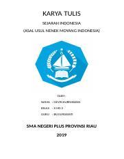 Asal Usul Nenek Moyang Bangsa Indonesia Ppt : nenek, moyang, bangsa, indonesia, Nenek, Moyang, Bangsa, Indonesia, Belajar