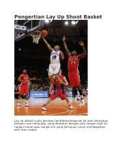 Pengertian Lay Up Dalam Basket : pengertian, dalam, basket, Pengertian, Shoot, Basket.docx, Basket, Adalah, Suatu, Gerakan, Tembakan\/lemparan, Keranjang, Dengan, Course