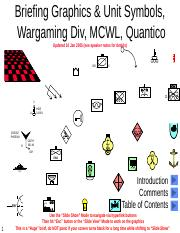 Army Graphics And Symbols Powerpoint : graphics, symbols, powerpoint, Wargaming-and-briefing-graphics.pptx, Briefing, Graphics, Symbols, Wargaming, Quantico, Updated, 2005(see, Speaker, Notes, Details, Course