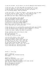 Terjemahan Lagu I Love You 3000 : terjemahan, Lirik, Goreng