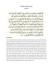 Qs An Nur Ayat 31 : Surah, An-Nur, 31.docx, Analisis, Terjemahan, \u201cDan, Katakanlah, Kepada, Perempuan-perempuan, Beriman, Supaya, Menyekat, Pandangan, Course