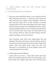 Jelaskan Pengertian Agama Baik Secara Etimologis Maupun Secara Terminologis? : jelaskan, pengertian, agama, secara, etimologis, maupun, terminologis?, 5.docx, Jelaskan, Pengertian, Agama, Secara, Etimologis, Maupun, Terminologis, Klasifikasi, Menurut, Al-Maqdoosi, Course