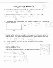 Science 8 Density Calculations Worksheet : science, density, calculations, worksheet, Mass_volume_and_density.pdf, SCIENCE, DENSITY, CALCULATIONS, WORKSHEET, Student, Measures, Block, Brown, Sugar, Course