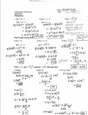 Composition Of Functions Worksheet Answer Key Pdf : composition, functions, worksheet, answer, Composition, Functions, Worksheet, Answers, Course