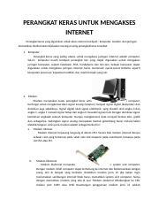 Perangkat Akses Internet : perangkat, akses, internet, PERANGKAT, KERAS, UNTUK, MENGAKSES, INTERNET.docx, INTERNET, Perangkat, Keras, Digunakan, Untuk, Akses, Internet, Meliputi, Course