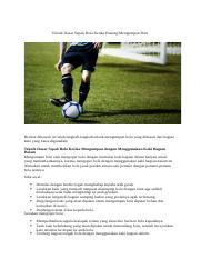 Cara Merebut Bola Dari Lawan : merebut, lawan, PENJAS, NABIL.docx, Teknik, Dasar, Sepak, Ketika, Passing\/Mengumpan, Berikut, Dibawah, Ialah, Langkah-langkah, Mengumpan, Didasari, Course