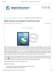 Download Idm Terbaru Full Crack : download, terbaru, crack, Internet, Download, Manager, (IDM), V6.35, Build, Crack, [Latest].pdf, Manager(IDM, Crack[Latest, Fileriver, Archive, Course