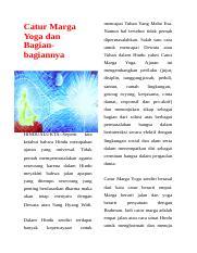 Bagian-bagian Catur Marga Yoga : bagian-bagian, catur, marga, Kliping, Agama, Hindu.docx, Mencapai, Tuhan, Catur, Marga, Bagianbagiannya, Namun, Tersebut, Tidak, Pernah, Dipermasalahkan, Salah, Course