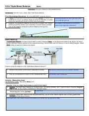 Triple Beam Balance Labeled : triple, balance, labeled, 2_25_2019, Report, A.docx, Density, Pre-Lab, Purpose, Students, First, Three, Different, Methods, Determine, Course