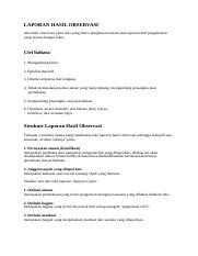 Dalam Teks Laporan Hasil Observasi Tahap Pernyataan Umum Atau Klasifikasi Merupakan : dalam, laporan, hasil, observasi, tahap, pernyataan, klasifikasi, merupakan, Soalsoal.docx, Laporan, Hasil, Observasi, Setelah, Mengamati, Mencatat, Diperlukan, Dicatat, Haruslah, Akurat, Sesuai, Course