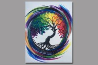Rainbow Tree of Life - Painting Classes Chicago ...