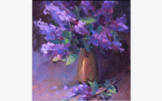 still life painting and