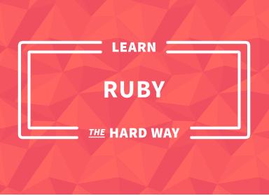 Learn ruby the hard way ebook