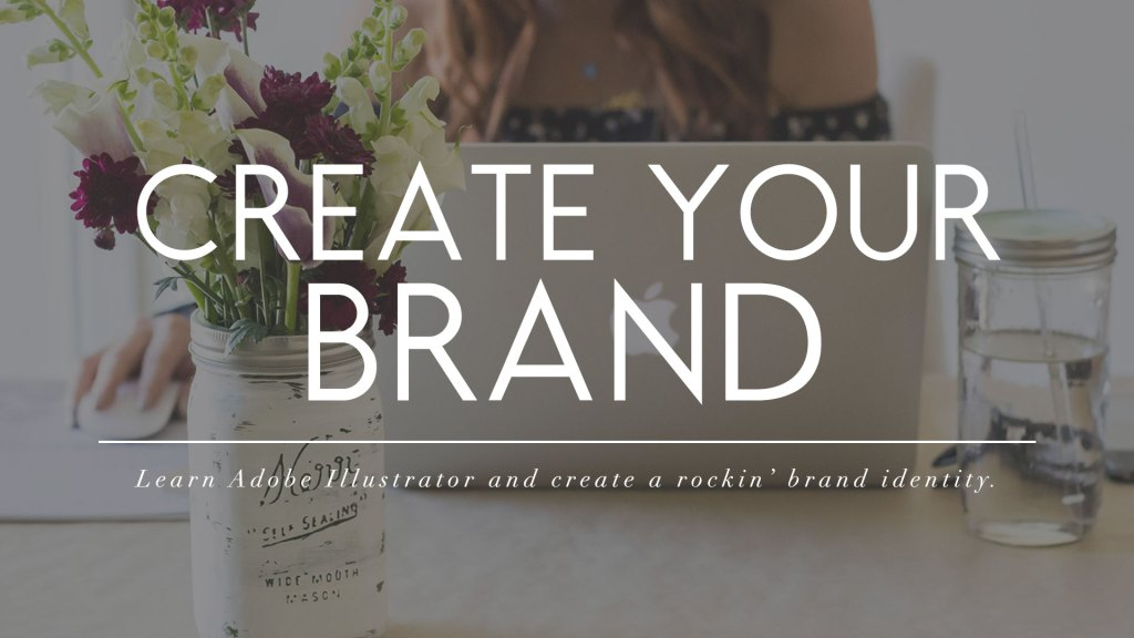 Learn Adobe Illustrator as a blogger and business owner and then create your perfect brand identity with your new skill. Create your brand is a four-week course to give you a creative edge in blogging.