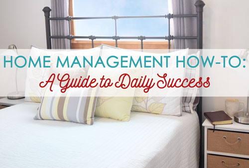 Home Management How-To: