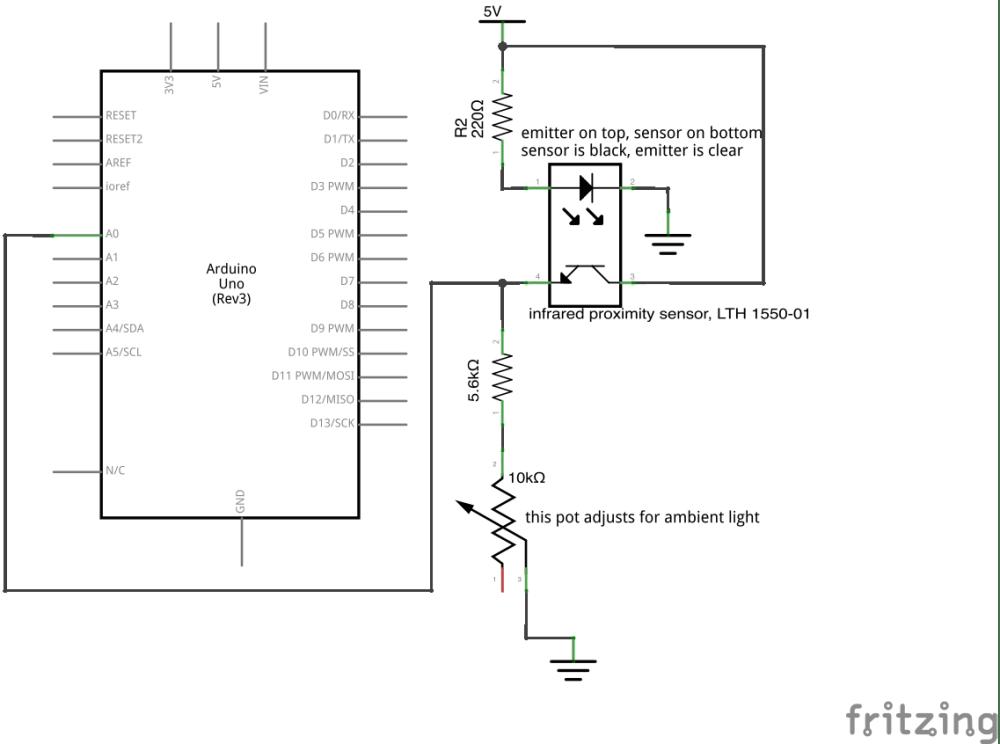 medium resolution of ir proximity sensor schematic