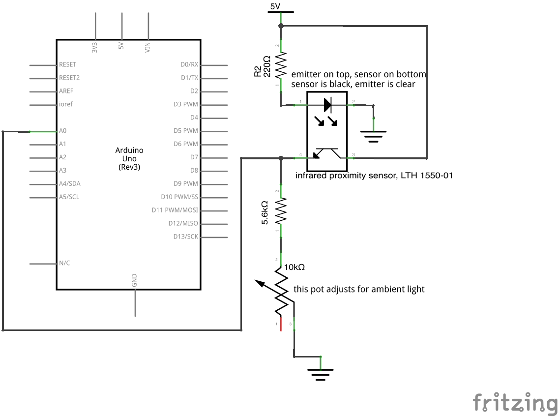 hight resolution of ir proximity sensor schematic
