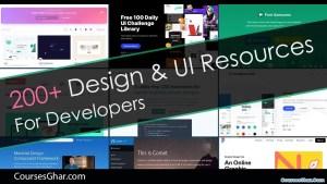 200+ Design & UI Resources For Developers - Coursesghar