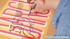 SkillShare - A Comprehensive Guide to Hand Lettering: Creating Graphic and Script Styles