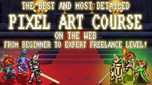 Pixel Art Master Course - Beginner to Professional/Freelance