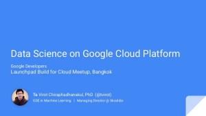 Data Science on the Google Cloud Plateform