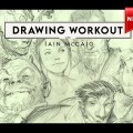 Schoolism – Drawing Workout with Iain McCaig