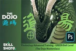 Skillshare - Photoshop Advanced Training - GREEN Belt Level (The Dojo Masterclass)