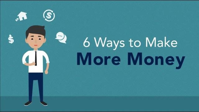 Six Money Making Methods | Legit Guide