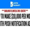 Duston Mcgroarty – The Push Notification Ads Masterclass