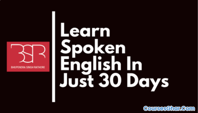 BSR - Learn Spoken English In Just 30 Days