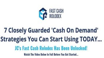Jacob Caris – Fast Cash Rolodex
