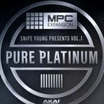 AKAI MPC Software Expansion Snipe Young Presents Vol.1 Pure Platinium [MPC]