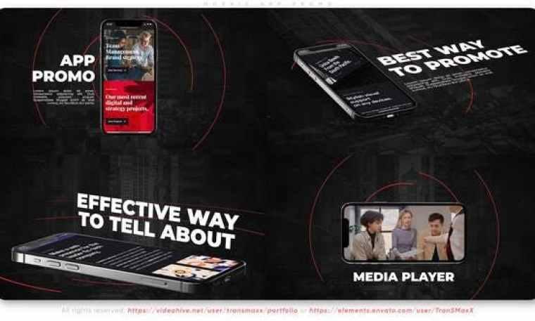 Videohive Mosaic App Promo 33749531 Free Download
