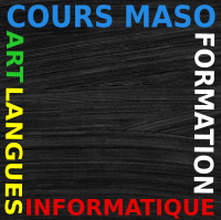 logo cours maso dessin informatique perpignan