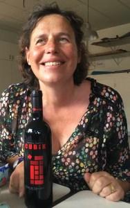 bouteille de vin offerte lors du dernier atelier vin