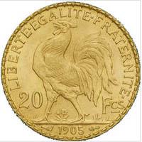 cours de bourse des pieces d or