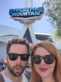 One of us liked Hyperspace Mountain....