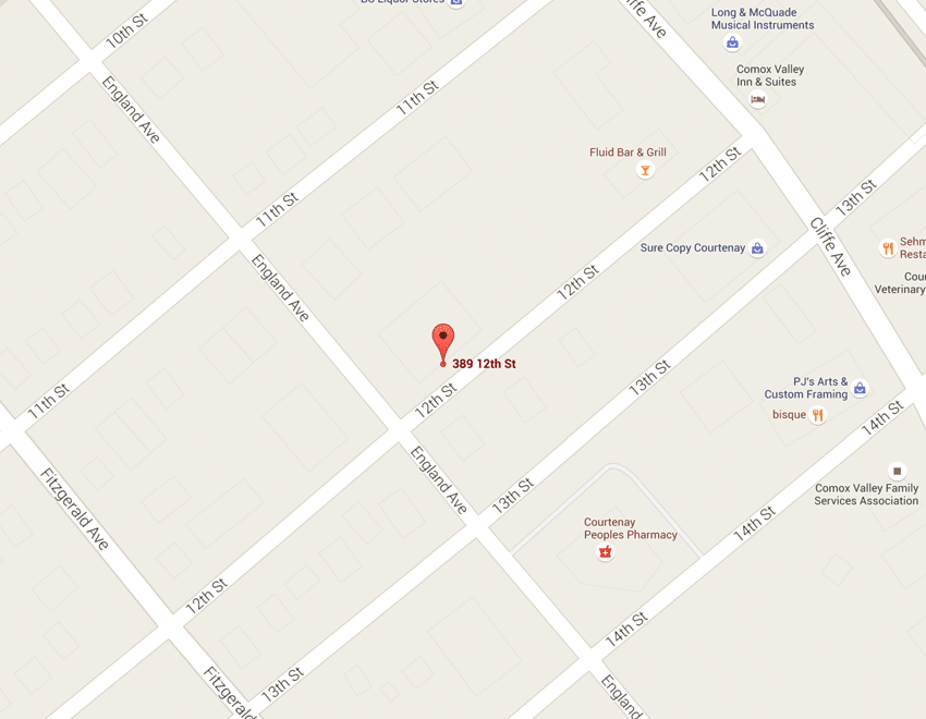 map courtenay dental health courtenay